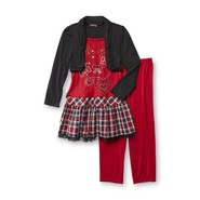 Tempted Apparel Girl's Shrug Tunic & Leggings - Bows & Hearts at Sears.com