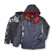 ZeroXposur Boy's Hooded Winter Coat - Geometric at Sears.com