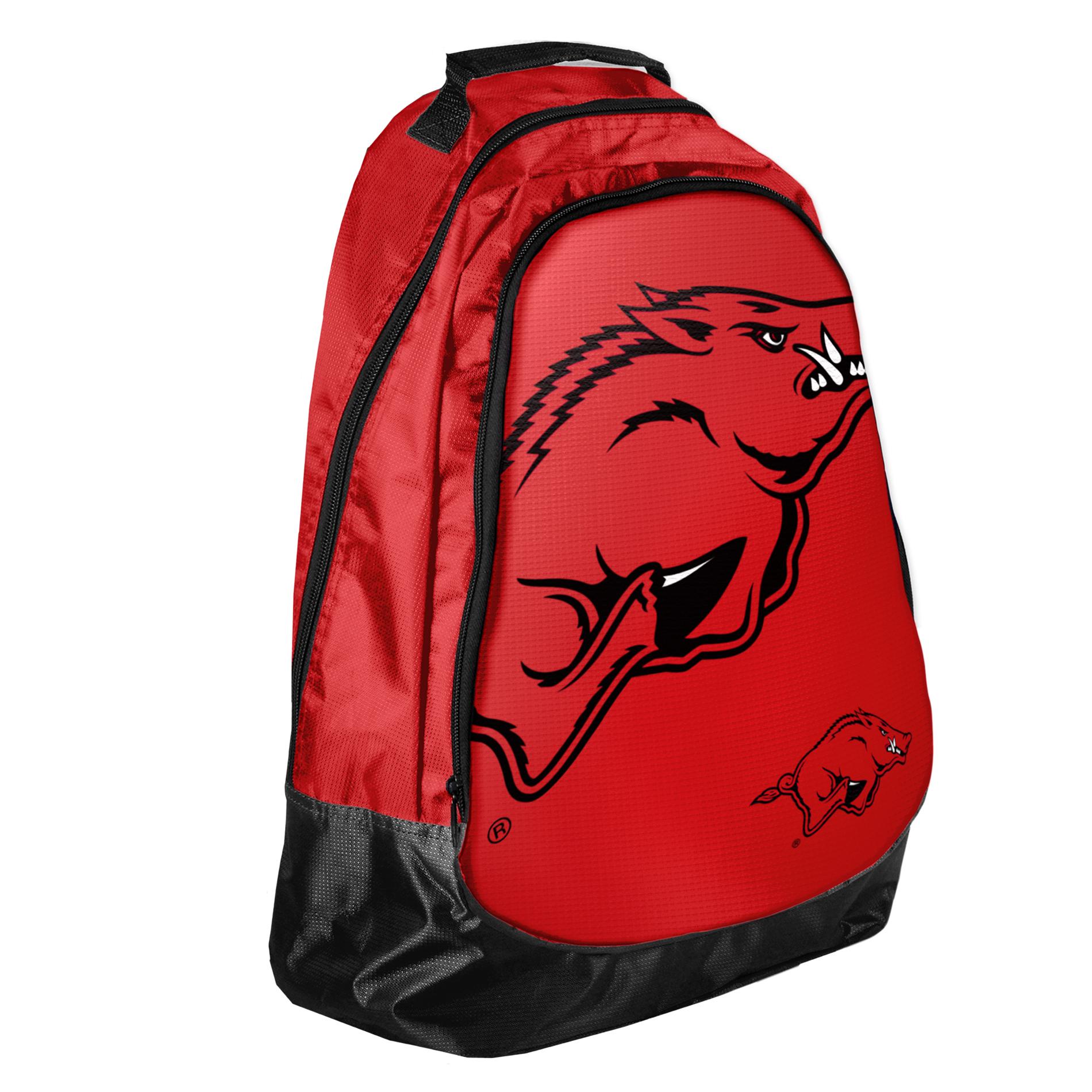 Forever Collectibles NCAA Structured Backpack University of Arkansas Razorbacks (#BPNC13ARK) PartNumber: 00659816000P KsnValue: 00659816000 MfgPartNumber: 175733
