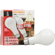 Sylvania Light Bulb, Soft White, 3 Way, 50, 100, 150 W, 2 bulbs at Kmart.com