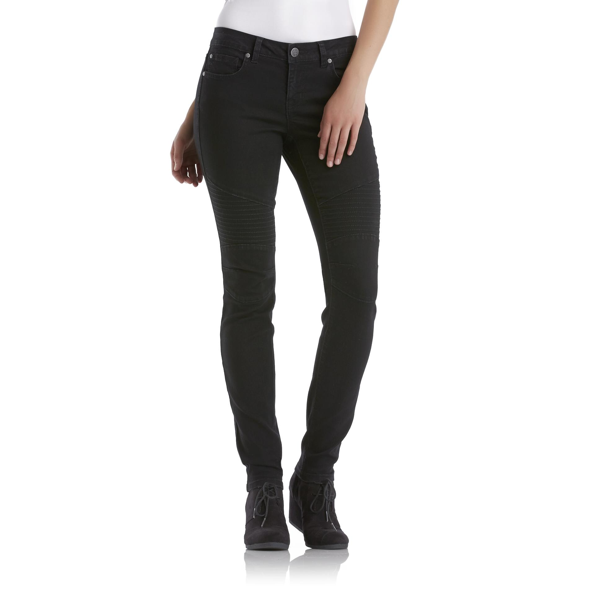 True Freedom Junior's Denim Moto Jeggings at Sears.com