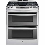 "GE Profile 30"" Profile™ Series Slide-In Gas Range w/ Convection - Stainless Steel at Sears.com"