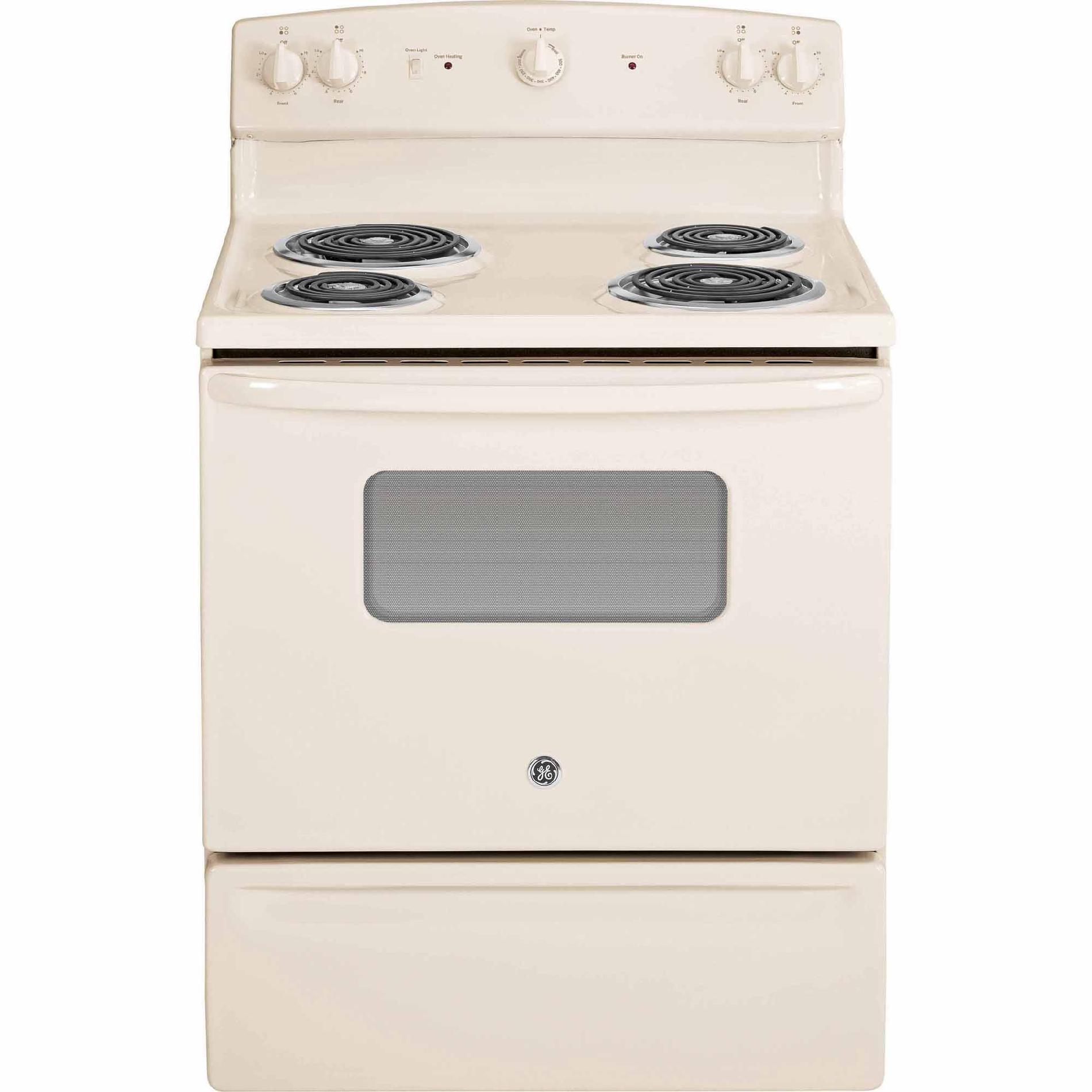 GE Appliances JBS10DFCC 5.0 cu. ft. Electric Range - Bisque