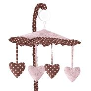 Sweet Jojo Designs Pink and Brown Toile Collection Musical Mobile at Kmart.com
