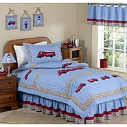 Sweet Jojo Designs Fire Truck Collection 3pc Full/Queen Bedding Set at Kmart.com