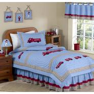 Sweet Jojo Designs Fire Truck Collection 3pc Full/Queen Bedding Set at Sears.com