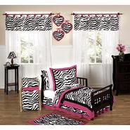 Sweet Jojo Designs Zebra Pink Collection 5pc Toddler Bedding Set at Kmart.com