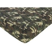Sweet Jojo Designs Camo Green Collection Fitted Crib Sheet - Camo Print at Kmart.com