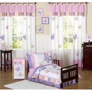 Sweet Jojo Designs Butterfly Pink and Purple Collection 5pc Toddler Bedding Set at Kmart.com