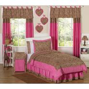 Sweet Jojo Designs Cheetah Pink Collection 3pc Full/Queen Bedding Set at Sears.com