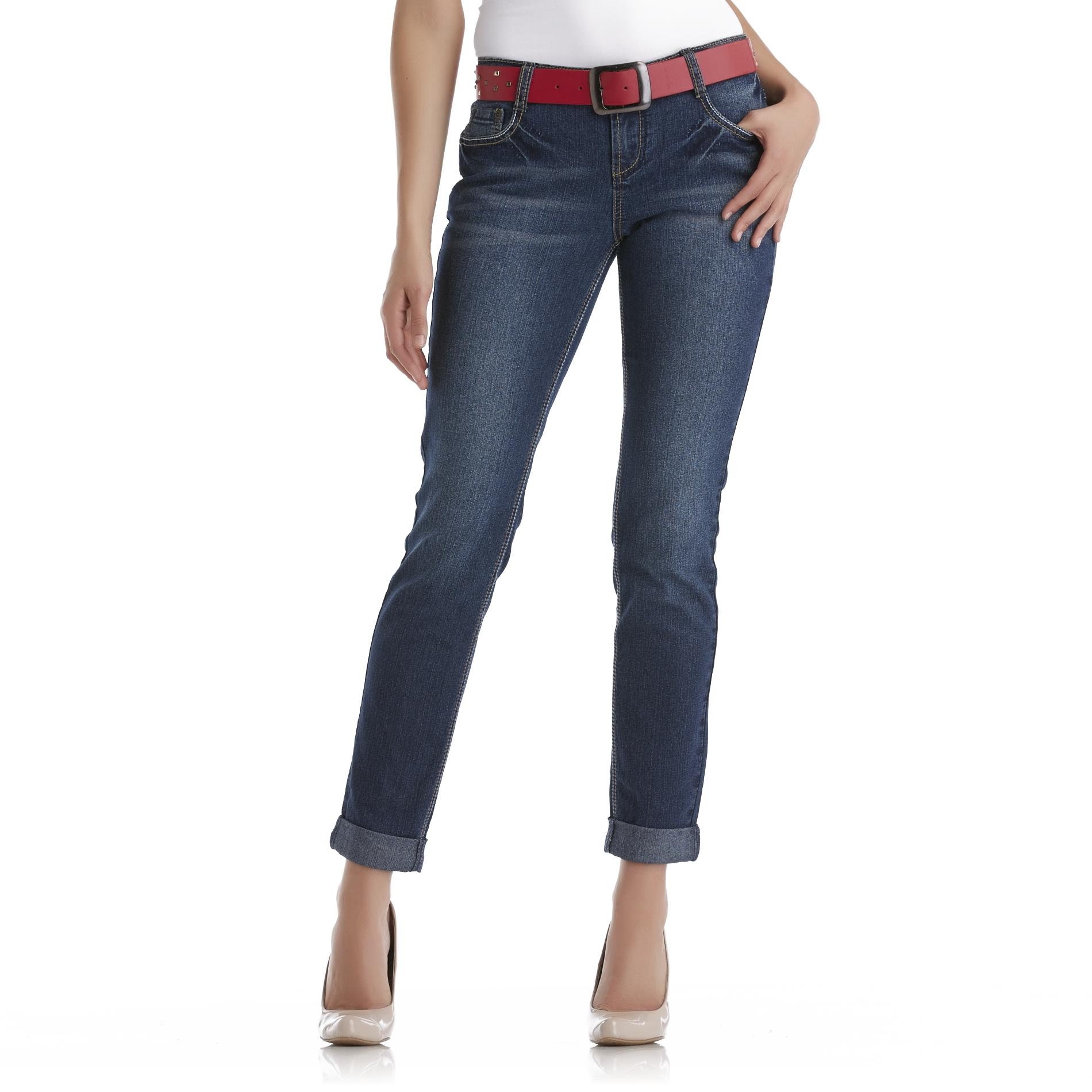 Bongo Junior's Belted Cuffed Jeans at Sears.com