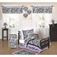 Sweet Jojo Designs Zebra Purple Collection 5pc Toddler Bedding Set at Kmart.com