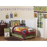 Sweet Jojo Designs Jungle Time Collection 3pc Full/Queen Bedding Set at Sears.com