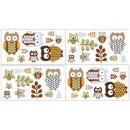 Sweet Jojo Designs Owl Collection Wall Decal Stickers at Kmart.com