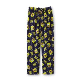Nickelodeon Men's SpongeBob Plush Fleece Pajama Pants - Wanna Hook Up? at Kmart.com