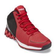 Reebok Men's Zigkick Hoops Red/Black High-Top Basketball Shoes at Sears.com