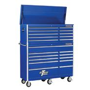 "Extreme Tools 56"" 10 Drawer Top Chest & 11 Drawer Roller Cabinet in Blue at Kmart.com"