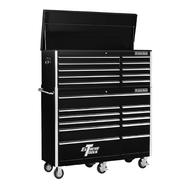 "Extreme Tools 56"" 10 Drawer Top Chest & 11 Drawer Roller Cabinet in Black at Kmart.com"