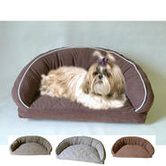 Carolina Pet Company Large Microfiber Semi Circle Lounge Bed at Kmart.com