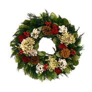 The Christmas Tree Company 16 In. Merry Tidings Dried Floral Wreath at Kmart.com