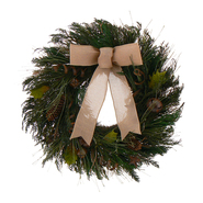 The Christmas Tree Company 18 In. Rustic Holiday Dried Floral Wreath at Kmart.com
