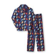 Joe Boxer Boy's Flannel Pajamas Set - Shred Zone at Kmart.com