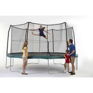 JUMPKING 14' POD TRAMPOLINE AND ENCLOSURE COMBO 6 LEGS / 6 POLES at Kmart.com