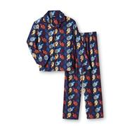 Joe Boxer Boy's Flannel Pajamas Set - Sports at Kmart.com