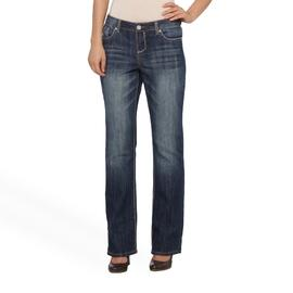 Almost Famous Women's Distressed Bootcut Jeans at Sears.com