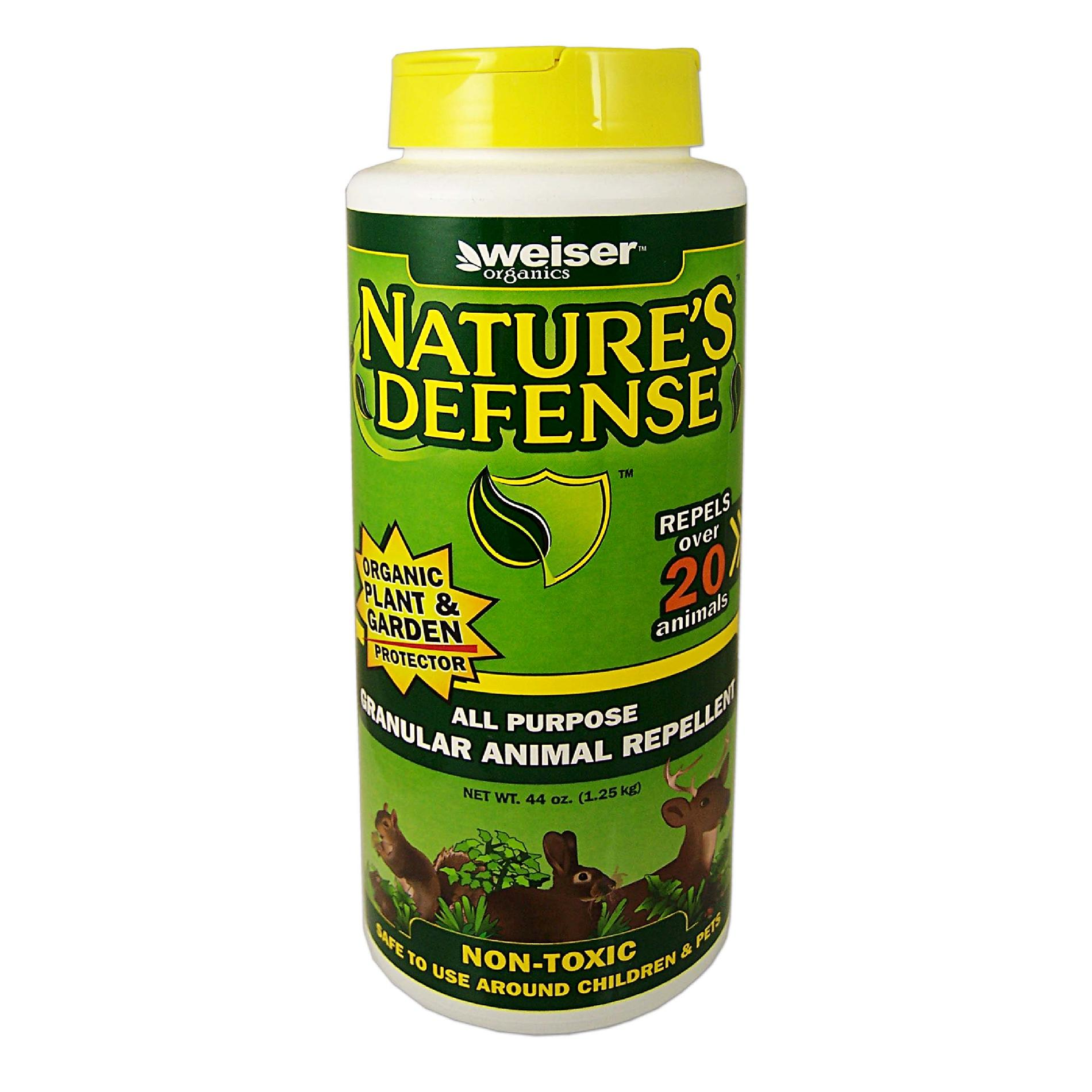 Bird-X Inc. Bird-X Nature's Defense ORGANIC All-Purpose Animal Repellent Granules-44 oz. PartNumber: 01297257000P KsnValue: 01297257000 MfgPartNumber: ND-10006C