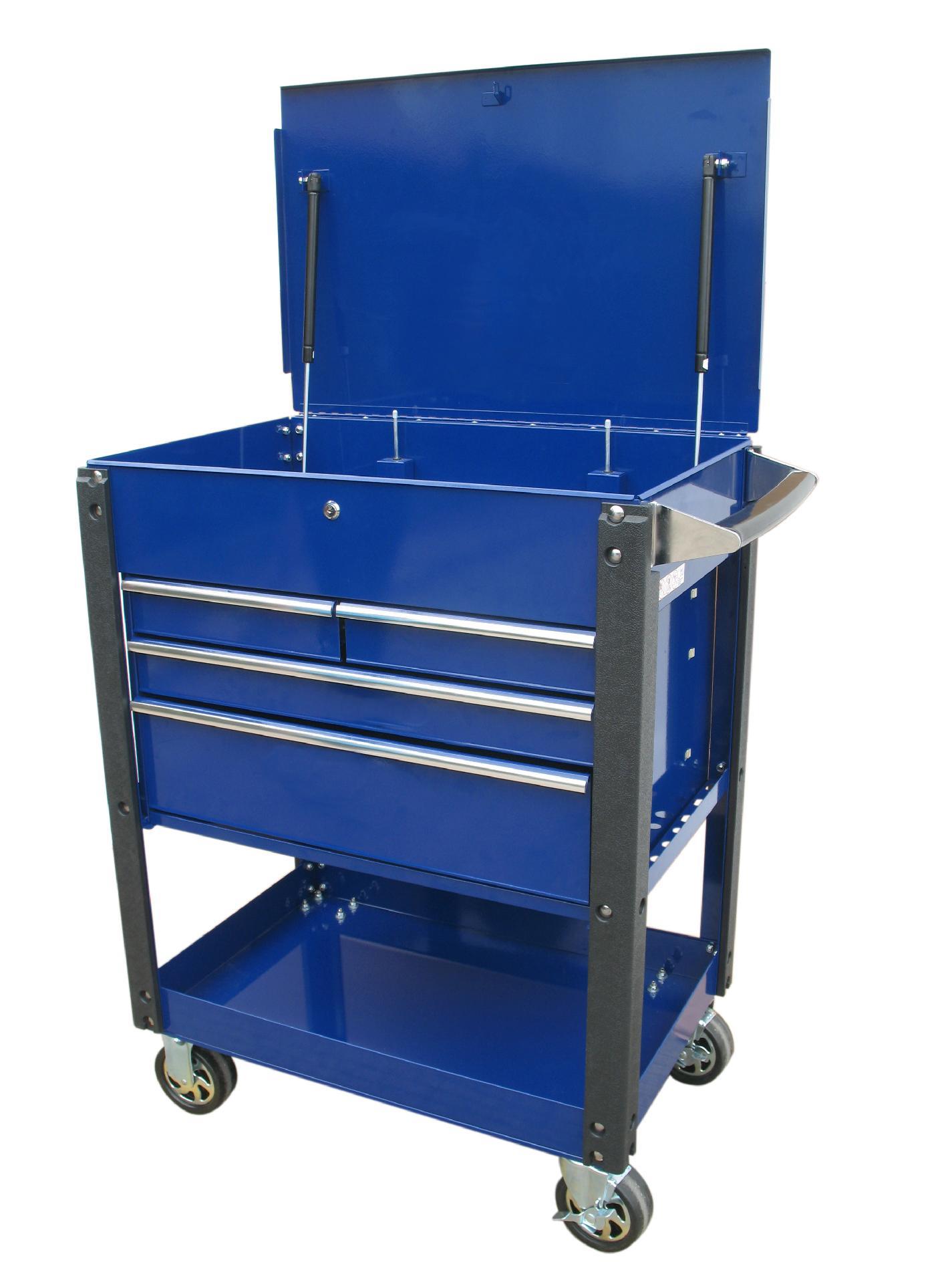 "International 30"" 4-Dwr. Automotive Heavy Duty Industrial Cart. PLUS FREE SHIPPING PartNumber: 00917313000P KsnValue: 6089723 MfgPartNumber: UCM-3004BU"