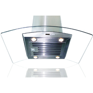 "AKDY 36"" Island Mount Stainless Steel Range Hood Kitchen Stove Vent D01(IS)-36 at Sears.com"