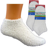MediPeds Moisturizing Womens Aloe Infused Socks - 2 pr at Kmart.com