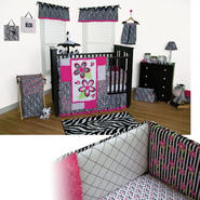 Zahara - 3pc Crib Bedding Set & Crib Sheet Bundle at Sears.com