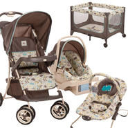 Cosco Cosco Super Safari Travel System, Bouncer & Play...