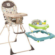 Cosco Super Safari High Chair & Walker Bundle at Kmart.com