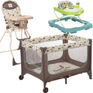 Cosco Cosco Super Safari Playard, High Chair & Walker ...