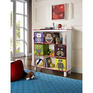 Altra Benny 3-Shelf Bookcase with 5 Bins - White at Sears.com