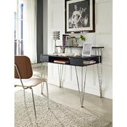 Altra Rade Computer Desk with Hutch - Black & Silver at Kmart.com