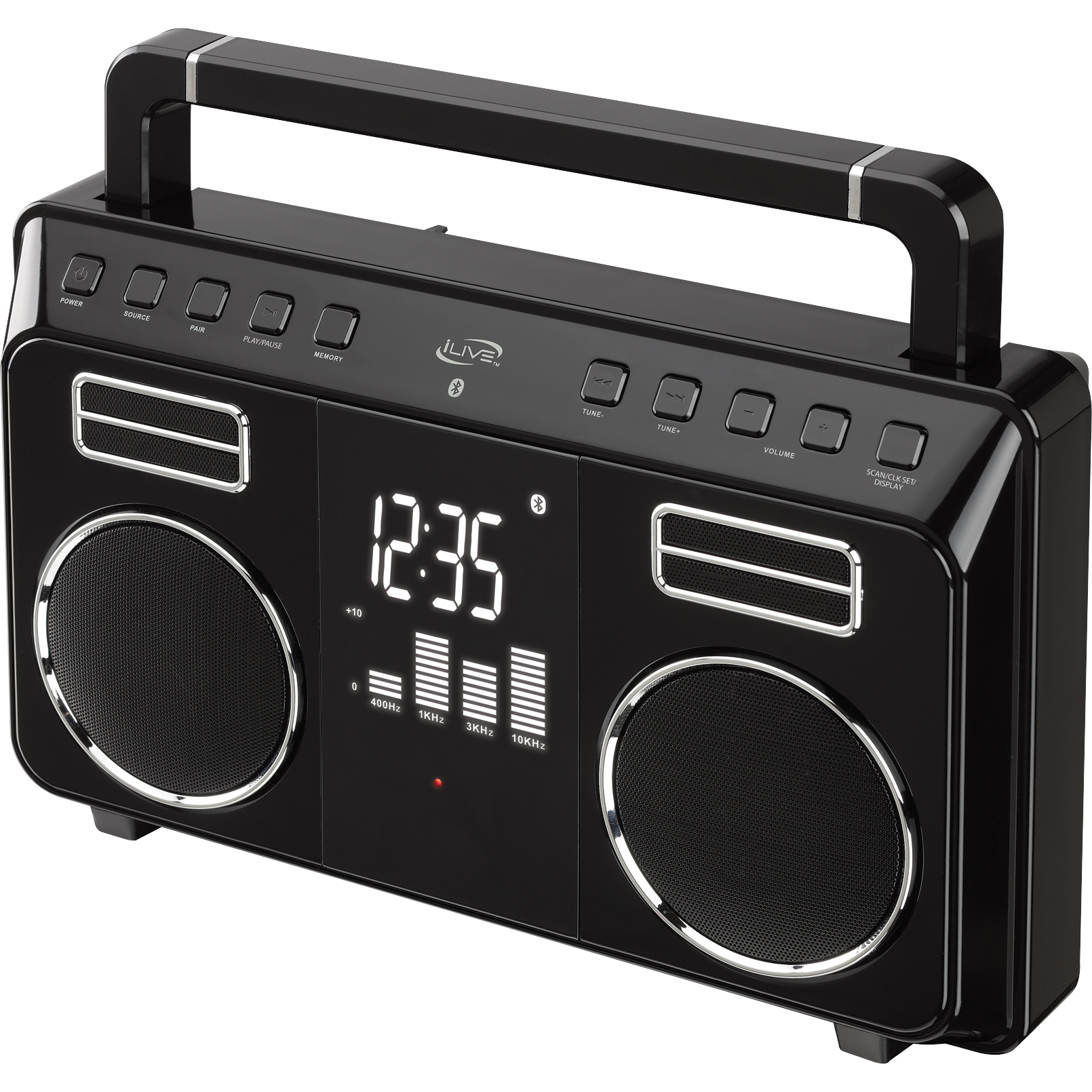 iLive  Wireless Bluetooth® Boombox IBB683B