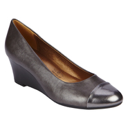 Soft Style by Hush Puppies Women's Fashion Dress Shoe Georgene - Pewter at Sears.com