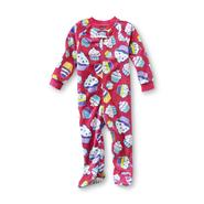 Joe Boxer Infant & Toddler Girl's Footed Sleeper Pajamas - Cupcakes at Kmart.com