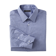 Structure Men's Fitted Dress Shirt - Herringbone at Sears.com