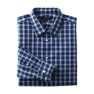 Structure Men's Fitted Dress Shirt - Plaid at Sears.com