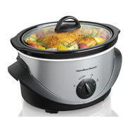 Hamilton Beach 4 qt. Stainless Steel Slow Cooker at Sears.com