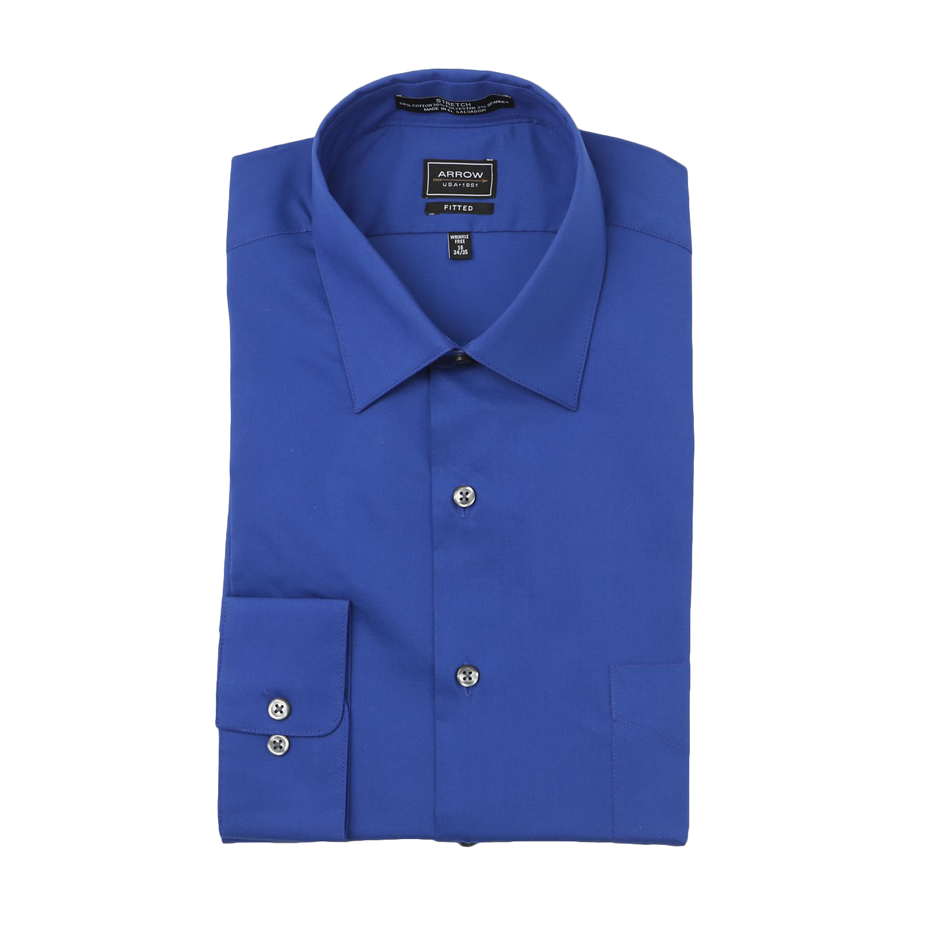 Find great deals on Mens Arrow Dress Shirts Clothing at Kohl's today! Sponsored Links Men's Arrow Fitted Stretch Dress Shirt + sale. $ Regular $ Men's Arrow Regular-Fit Stretch Spread-Collar Dress Shirt. sale. $