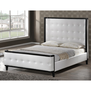 Baxton Penta White Modern Bed - Queen Size at Kmart.com