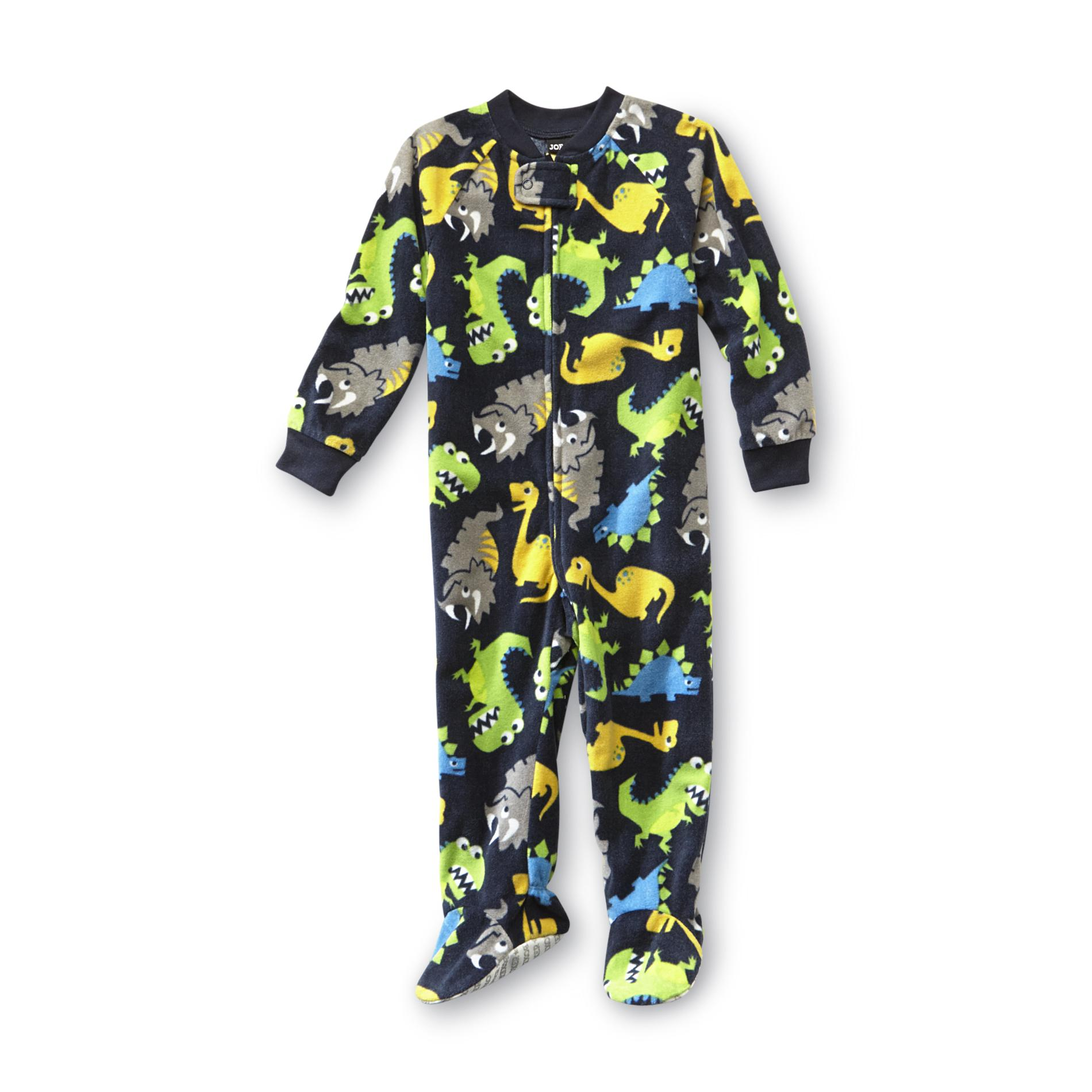 Infant & Toddler Boy's Footed Sleeper Pajamas