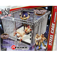 WWE Steel Cage Accessory - WWE Toy Wrestling Action Figure Rings & Playsets at Kmart.com