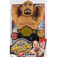 WWE The Rock - WWE Championship Brawlin Buddies Toy Wrestling Action Figure at Kmart.com